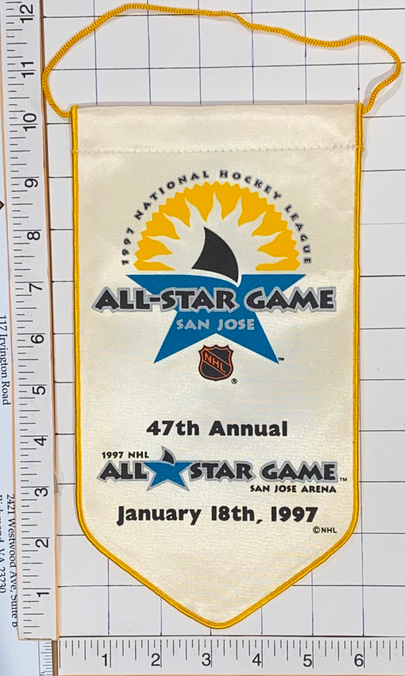 SAN JOSE NHL HOCKEY 1997 ALL STAR GAME LICENSED 10