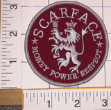 SCARFACE MOVIE TONY MONTANA AL PACINO MONEY POWER RERSPECT CREST EMBLEM PATCH