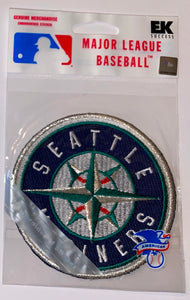 1 MIP SEATTLE MARINERS MLB BASEBALL CREST PATCH MINT IN PACKAGE