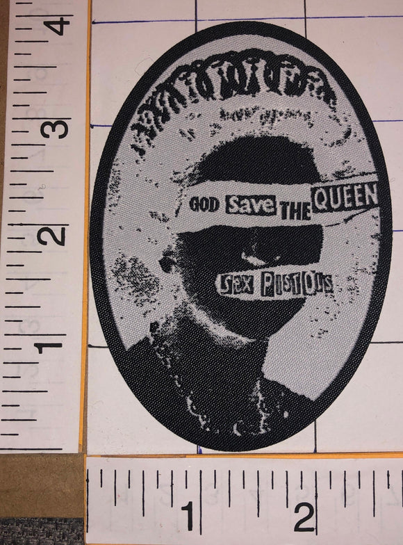 THE SEX PISTOLS GOD SAVE THE QUEEN PUNK ROCK MUSIC BAND CONCERT PATCH