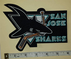 1 SAN JOSE SHARKS NHL HOCKEY BADGE CREST PATCH