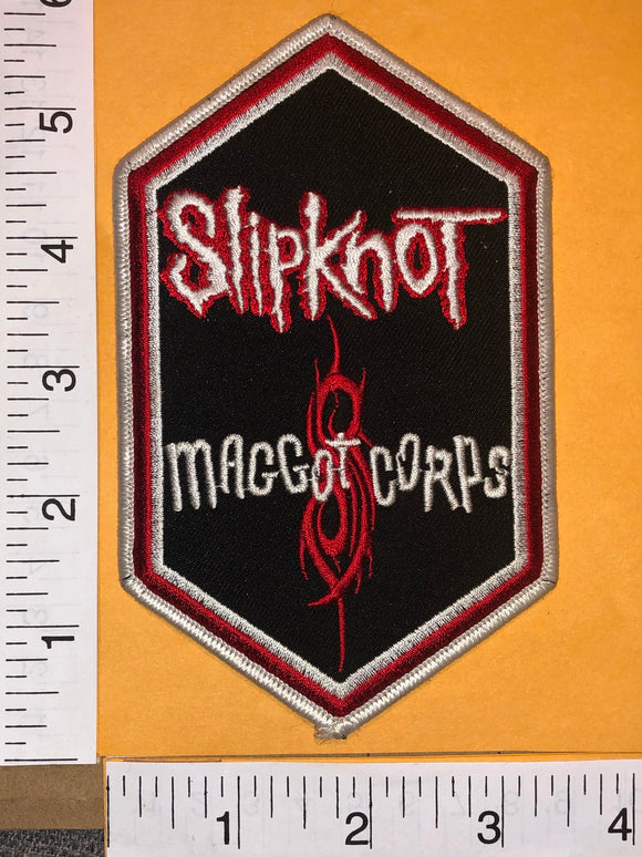 SLIPKNOT MAGGOT CORPS AMERICAN HEAVY METAL ALBUM MUSIC CREST PATCH