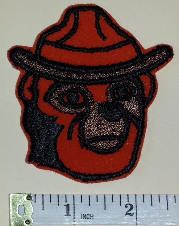 1 VINTAGE SMOKEY THE BEAR FIRE FIGHTING FOREST CREST EMBLEM PATCH