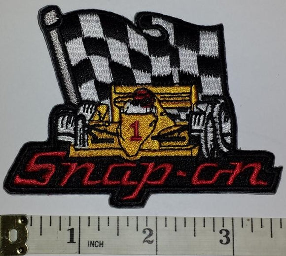 1 SNAP-ON SNAP ON AUTOMOTIVE RACING POWER TOOLS FORMULA 1 GRAND PRIX CREST PATCH