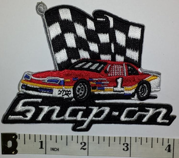 1 SNAP-ON SNAP ON AUTOMOTIVE RACING POWER TOOLS NASCAR SPONSOR STOCK CREST PATCH