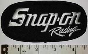 1 SNAP-ON SNAP ON AUTOMOTIVE RACING POWER TOOLS NASCAR SPONSOR BLACK CREST PATCH