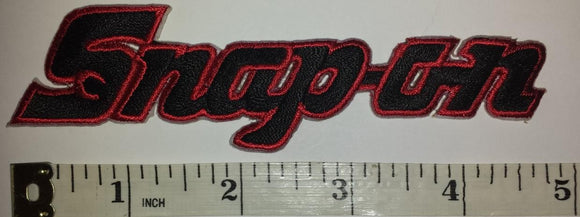 1 SNAP-ON SNAP ON RACING POWER TOOLS NASCAR SPONSOR AUTOMOTIVE RED CREST PATCH