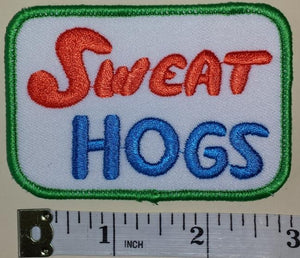 WELCOME BACK KOTTER SWEAT HOGS JOHN TRAVOLTA FUNNY SITCOM CREST EMBLEM PATCH