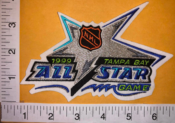 1999 TAMPA BAY LIGHTNING ALL STAR GAME NHL HOCKEY EMBLEM PATCH