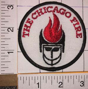 RARE THE CHICAGO FIRE MLS SOCCER MAJOR LEAGUE SOCCER FOOTBALL CREST BADGE PATCH