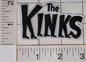 THE KINKS ENGLISH ROCK BAND BRITISH INVASION MUSIC ROCK PATCH