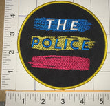 "THE POLICE SYNCHRONICITY ALBUM CONCERT MUSIC 5"" PATCH STING SUMMERS COPELAND"
