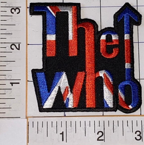 THE WHO ENGLISH ROCK BAND DALTRY MOON ENTWHISTLE  TOWNSHEND MUSIC PATCH