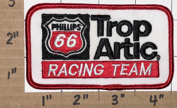 1 RARE PHILLIPS 66 TROP ARTIC TEAM GAS OIL RACING TEAM NASCAR CREST EMBLEM PATCH