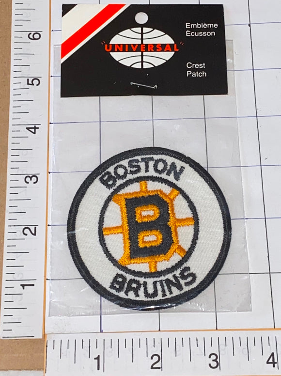 1 RARE VINTAGE 1970'S BOSTON BRUINS NHL HOCKEY EMBLEM CREST PATCH MIP