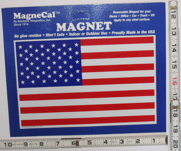 1 AMERICAN UNITED STATES FLAG MAGNET mint in package