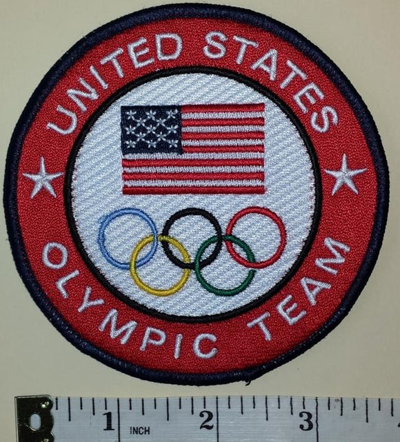 1 UNITED STATES OLYMPIC TEAM EMBLEM CREST PATCH