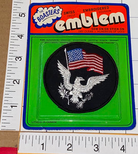 1 UNITED STATES AMERICAN EAGLE EMBLEM CREST PATCH MINT IN PACKAGE