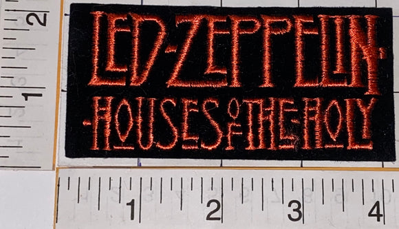 LED ZEPPELIN HOUSES OF THE HOLY ROBERT PLANT JIMMY PAGE BONHAM JONES MUSIC PATCH