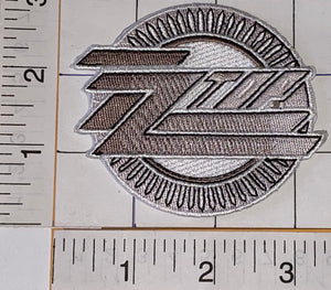 OFFICIAL ZZ TOP AMERICAN ROCK TRIO BLUES ROCK BAND CREST EMBLEM PATCH