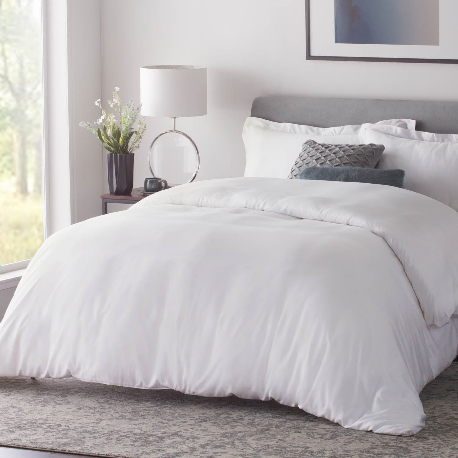 Woven- Rayon From Bamboo Duvet Set