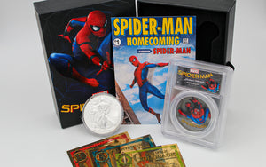 spiderman homecoming 1oz silver 1oz silver eagle 16 24k Gold Bills