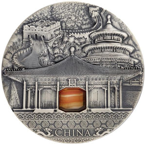2016 Niue CHINA Imperial Art 2oz Silver Coin - RareKoin