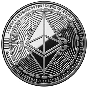 2019 ETHEREUM Commemorative 1oz Silver Antique Coin - RareKoin