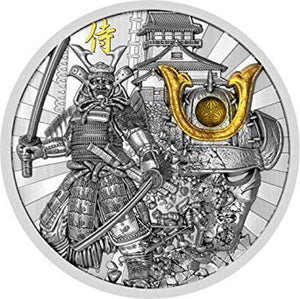 2019 Niue SAMURAI Warriors 2oz Silver Coin - RareKoin