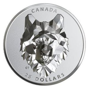 2019 Canada Multifaceted Animal Head: Wolf - RareKoin