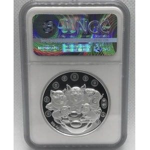 2019 Chinese Lunar Panda Year of the Pig Silver Proof NGC PF 70 Coin - RareKoin