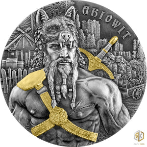 2020 Germania ARIOWIT - The Warriors 2oz Silver Antique Coin - RK