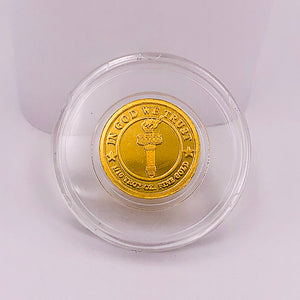 Lady Liberty 1/10th oz Gold Coin (Round) - RK