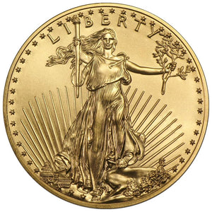 1/10th oz United States Gold Eagle BU (Random Year) - RK