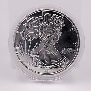 Walking Liberty 1oz Silver Coin (Round) - RareKoin