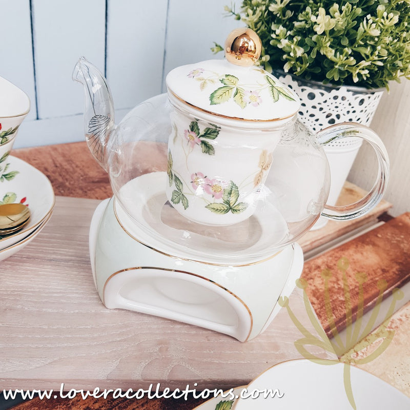 All Year Berry High Tea Set (with Warmer) for 4 Pax with Gift Box