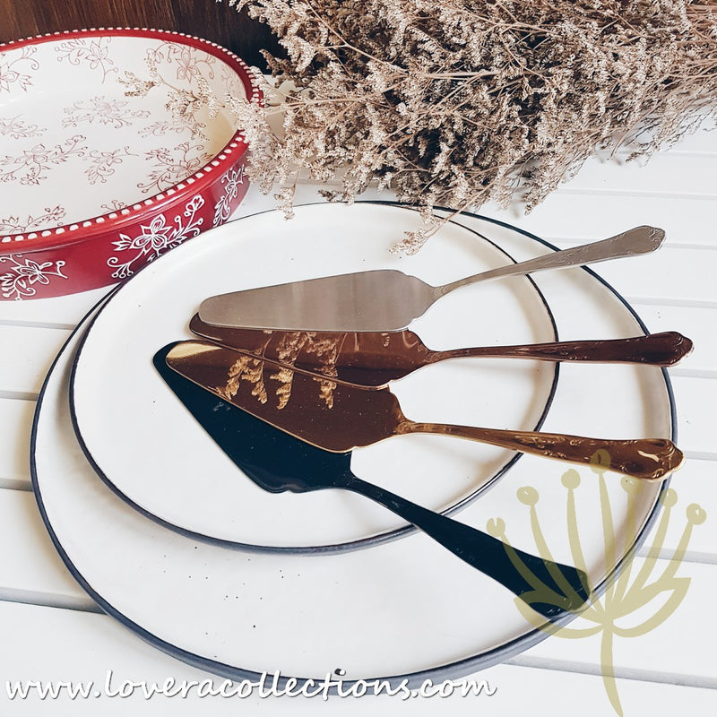 Bitossi Home Retrò Stainless Cake Server
