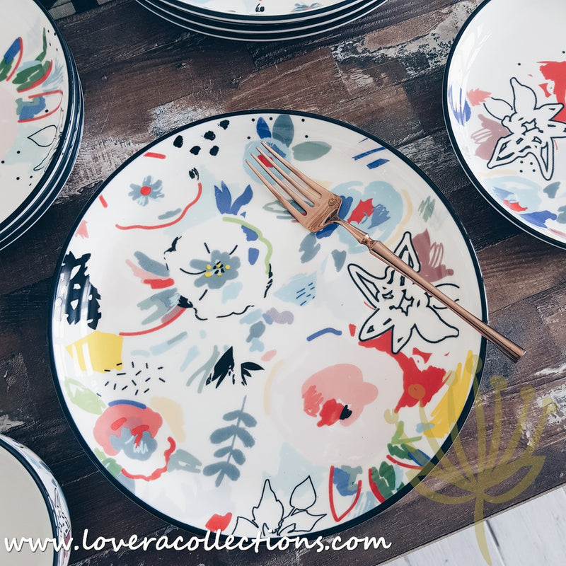 Splash Floral Dinnerware Collection