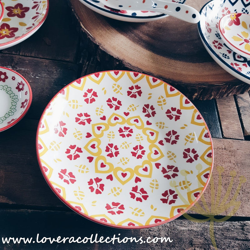 Cutesy Prints Condiments Dishes & Salad Plates