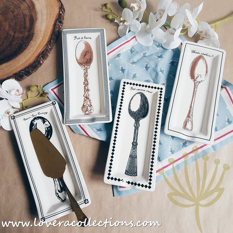 Essential Rectangle Spoon Rest (Assorted Designs)
