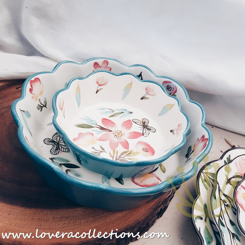 Harmony Floral Dinnerware Collection