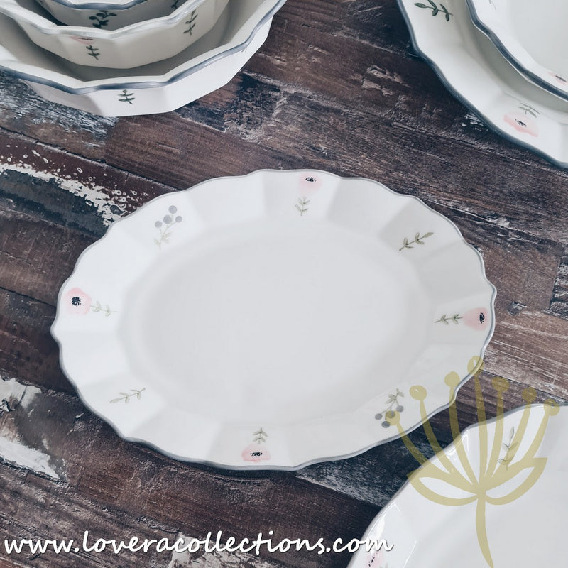 Le Fleur Dinnerware Collection
