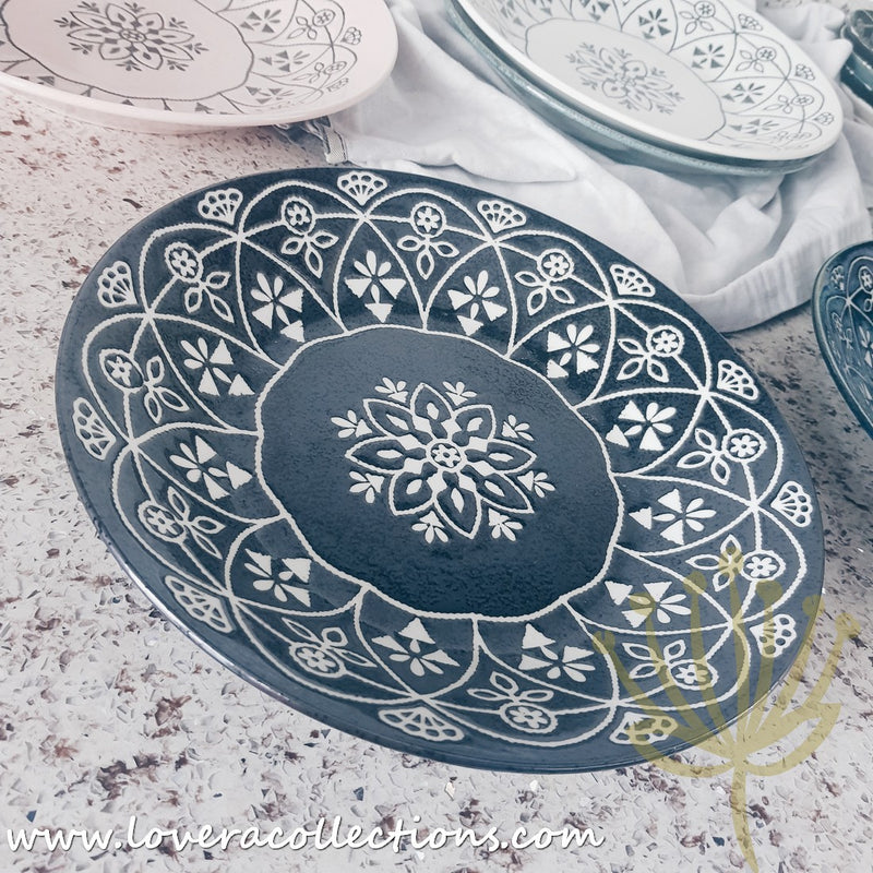 M-mode Moroccan Style Assorted Colors Dinnerware Collection