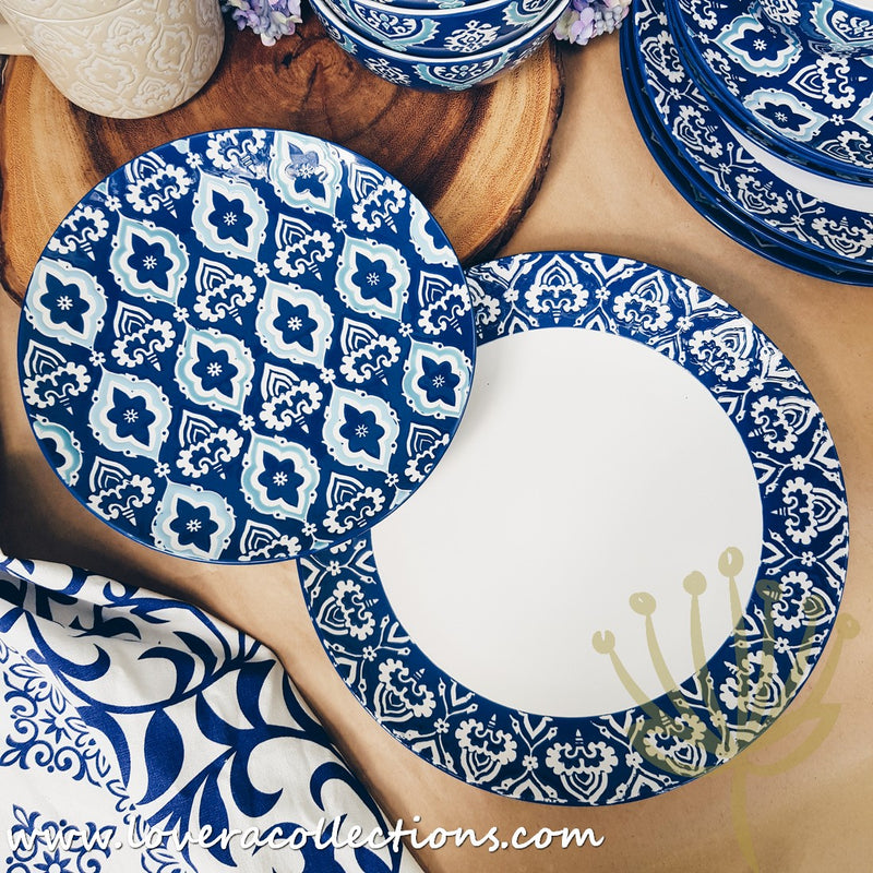 Moroccan Embossed Drinkware & Dinnerware Collection
