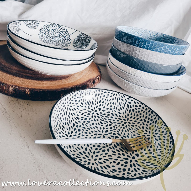 Repeat Assorted Patterns Pasta Dishes