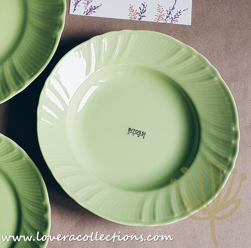 Bitossi Italy Green Romantic Dinnerware Collection