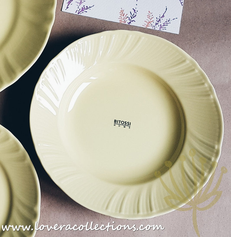 Bitossi Italy Yellow Romantic Dinnerware Collection