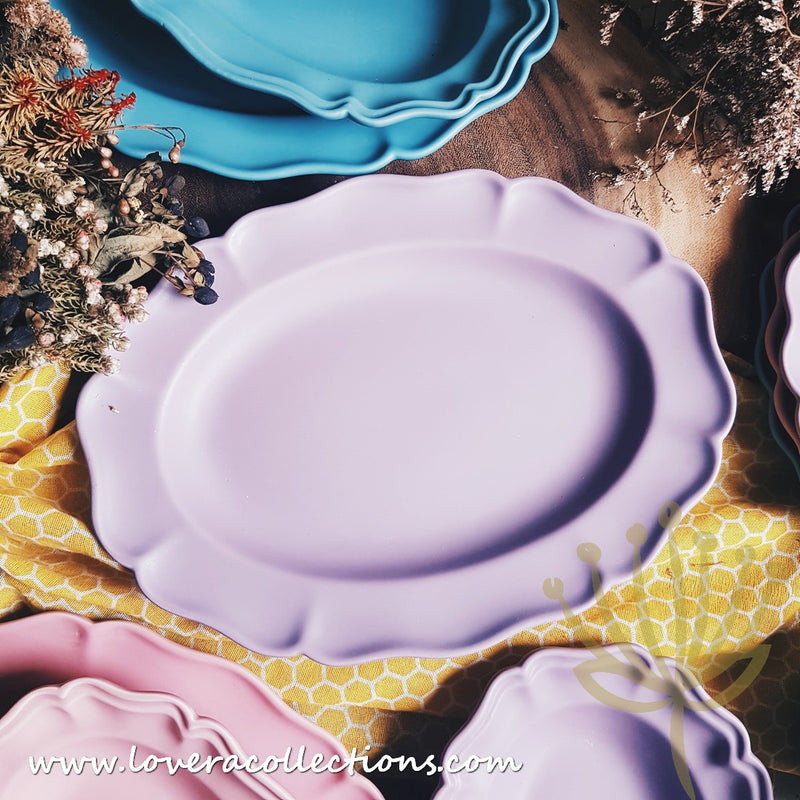 Ruffles Matt Dinnerware Collection