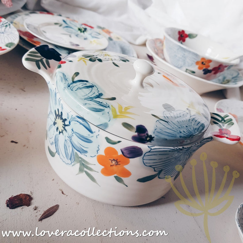 Tropical Floral Dinnerware Collection