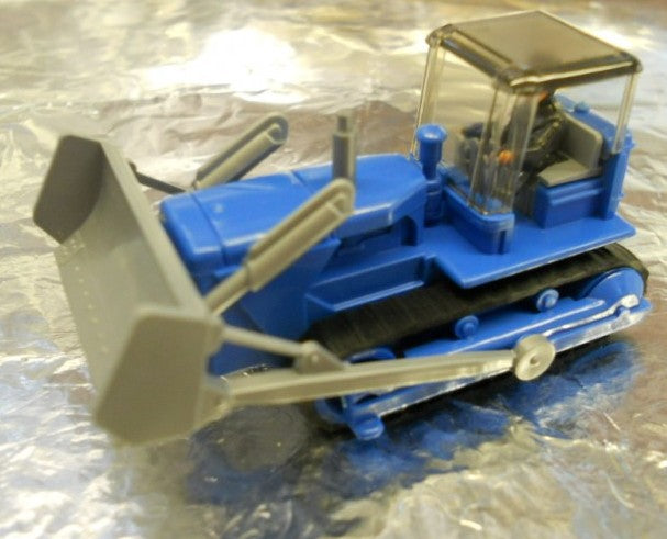 H0 Wiking 6550318 - Bulldozer blu